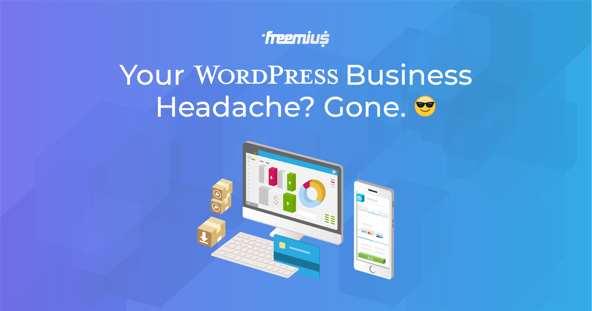 Selling through Freemius - your WordPress business headach gone
