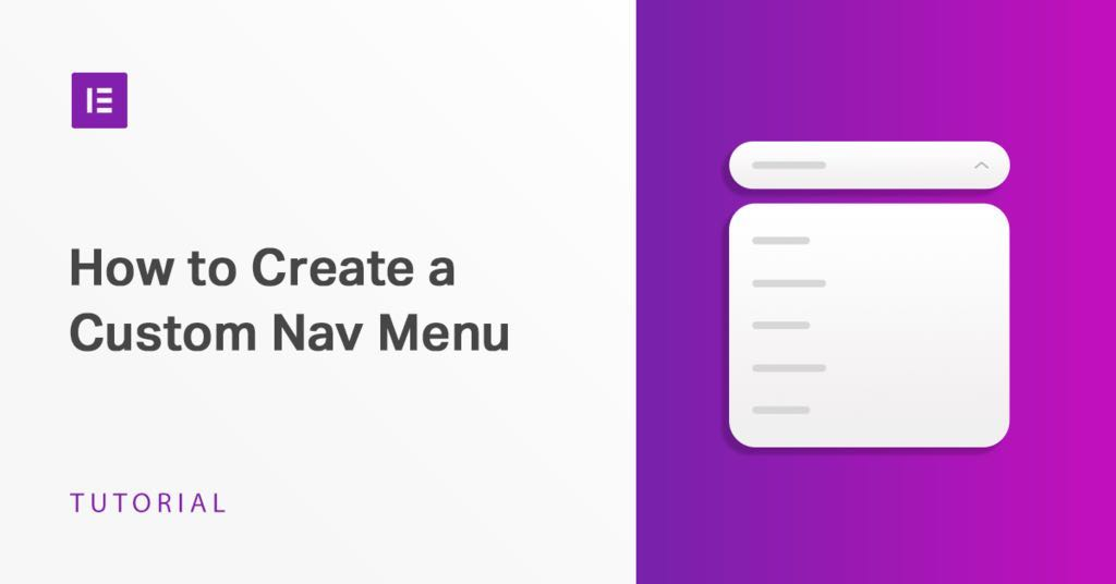 Create Your Own Custom Navigation For Website