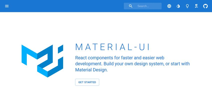 Material UI component library