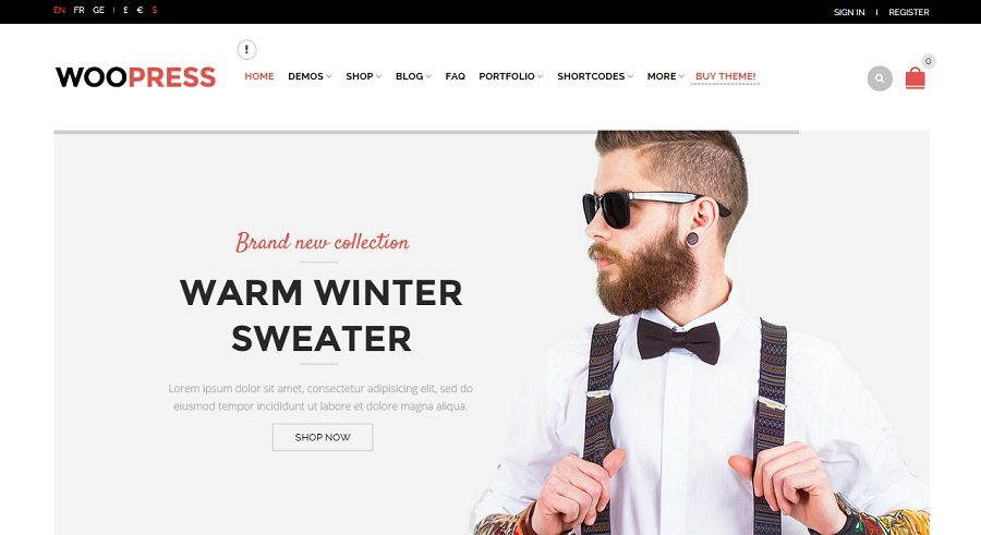 Just another New WordPress Theme