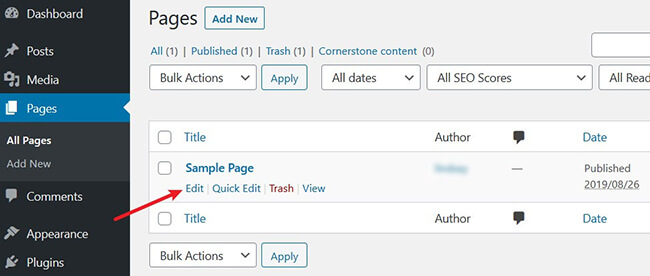 edit-on-wordpress-page-Disable-Comments-In-WordPress.jpg