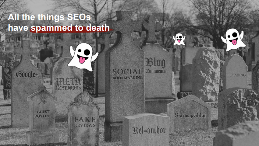 All the things SEOs have spammed to death