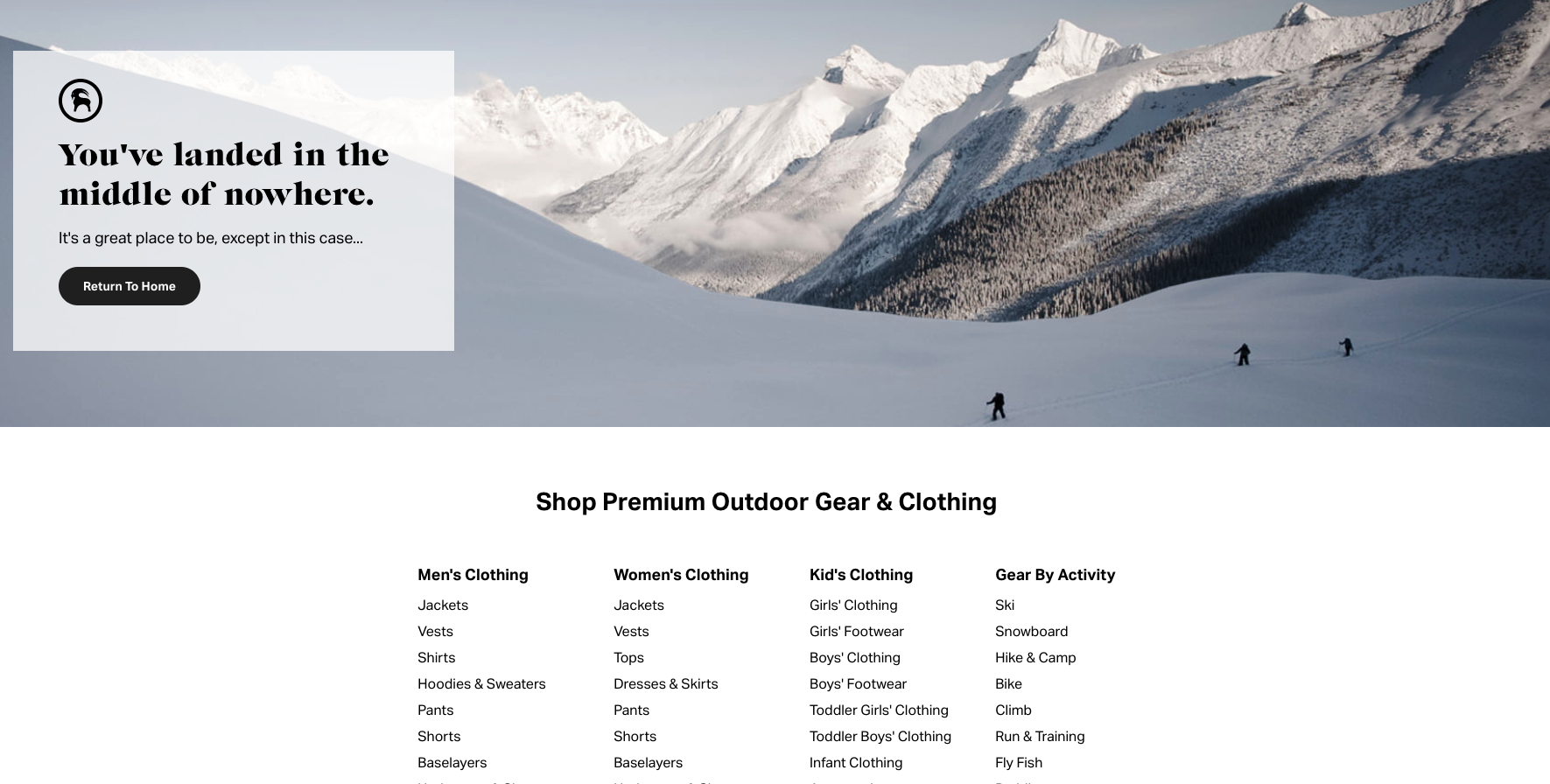 backcountry 404 page