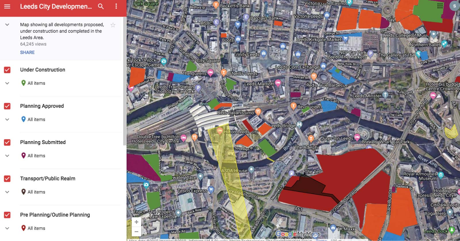 6 Brands That Will Inspire You to Create Better Content - Leeds city development map