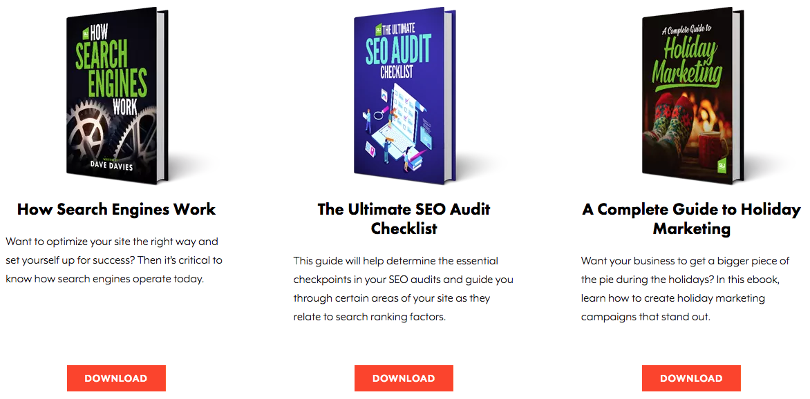 Search Engine Journal Ebooks